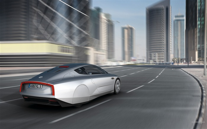 Volkswagen XL1 Concept car desktop picture 07 Views:3662