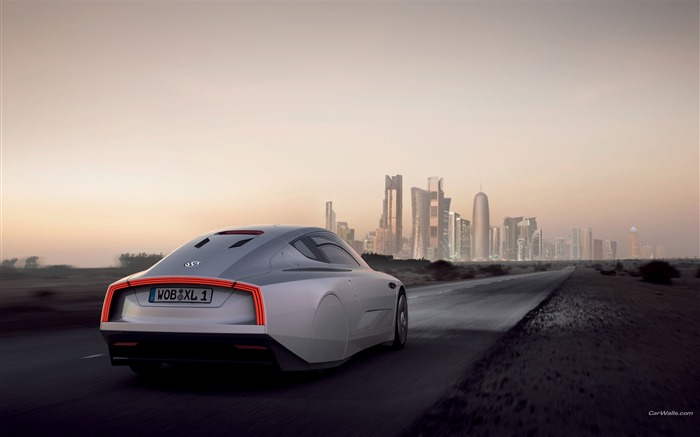 Volkswagen XL1 Concept car desktop picture 09 Views:3222