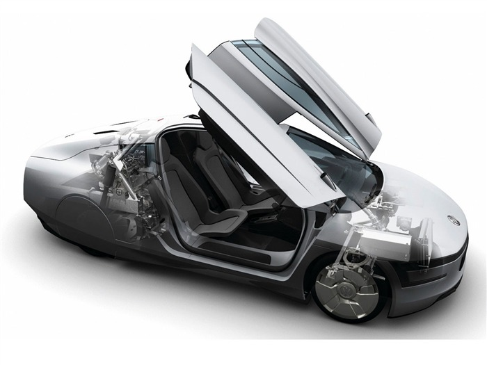 Volkswagen XL1 Concept car desktop picture 17 Views:2103