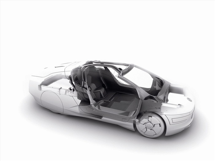 Volkswagen XL1 Concept car desktop picture 19 Views:2637