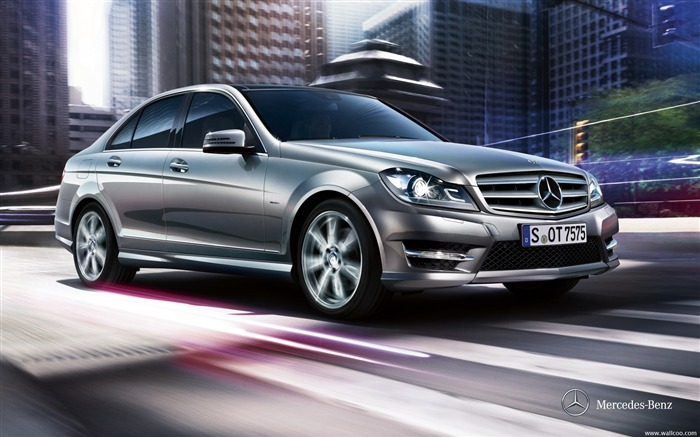 Mercedes Benz C Class 2011 Official Wallpaper Views:12099