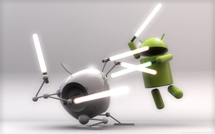 funny android-Android logo robotics Desktop Wallpapers Views:36895