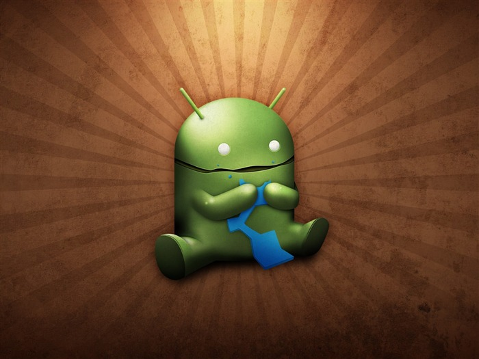 funny android robot-Android logo robotics Desktop Wallpapers Views:14629