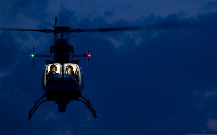 helicopter in flight-Military Desktop Wallpaper second series Views:5076