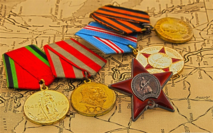 military medals-Military Desktop Wallpaper second series Views:4502