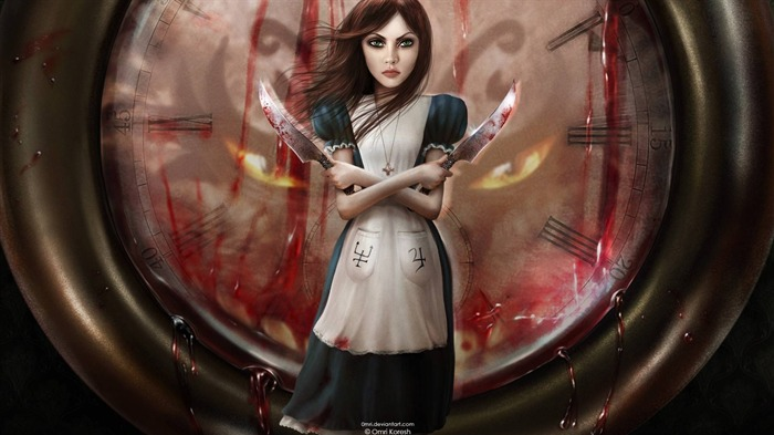 Alice-Madness Returns HD Game Wallpaper 02 Views:12415