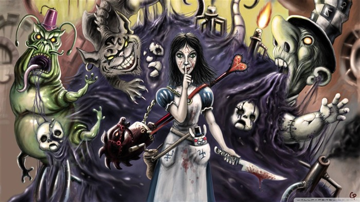 Alice-Madness Returns HD Game Wallpaper 03 Views:5065