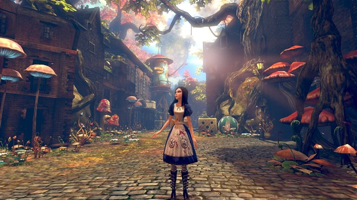 Alice-Madness Returns HD Game Wallpaper 04 Views:107518