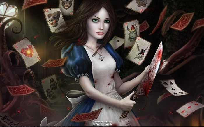 Alice-Madness Returns HD Game Wallpaper 06 Views:15994