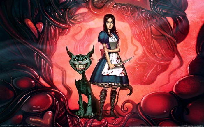 Alice-Madness Returns HD Game Wallpaper 07 Views:7397