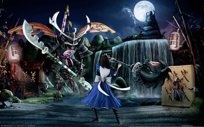 Alice-Madness Returns HD Game Wallpaper 08 Views:7050