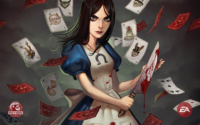 Alice-Madness Returns HD Game Wallpaper 09 Views:5456