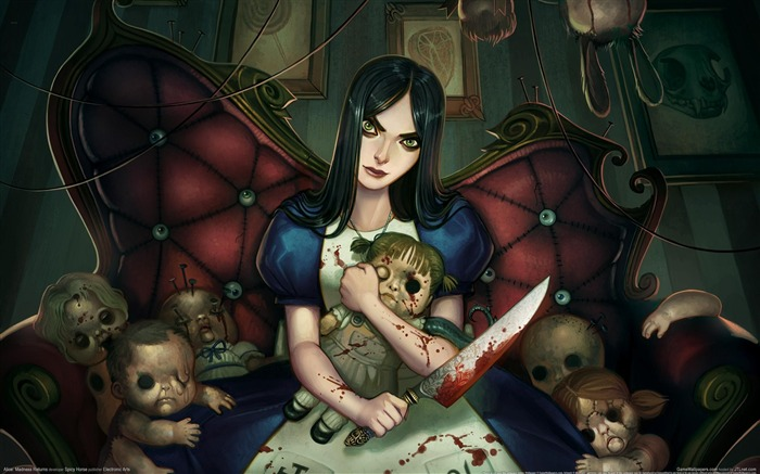 Alice-Madness Returns HD Game Wallpaper 10 Views:8608