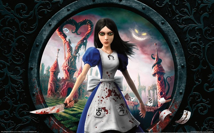 Alice-Madness Returns HD Game Wallpaper Views:7352
