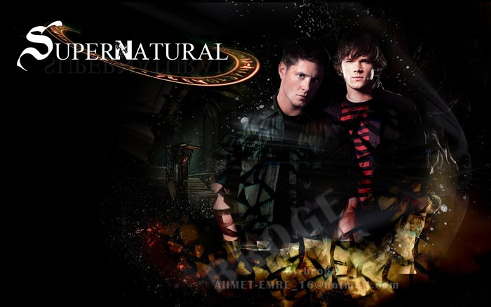 Dean Winchester and Sam-Supernatural-HD Desktop Picture Views:11271