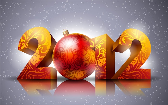 Looking forward to 2012-Happy New Year Desktop Wallpapers Views:14590
