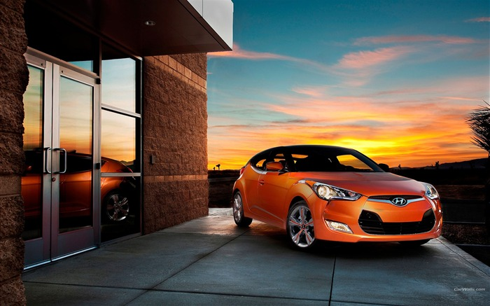 Hyundai veloster auto desktop picture wallpaper Views:5923