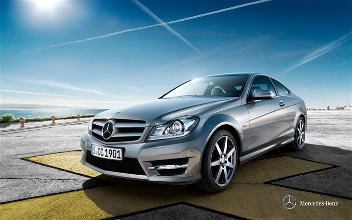 Mercedes-Benz C-Class Coupe wallpaper Views:11253