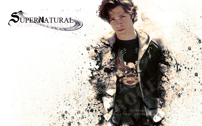 Sam Winchester-Supernatural-HD Wallpaper Views:10337