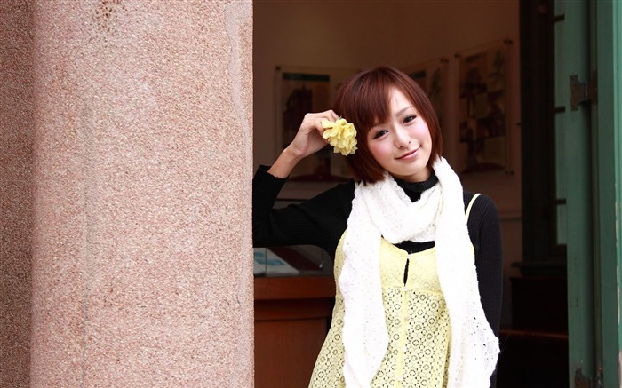 Taiwan MM Yan Fu beautiful wallpaper Album 03 Views:6698
