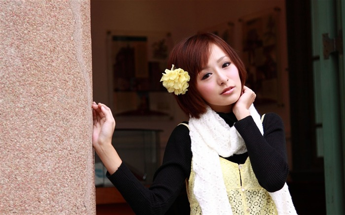 Taiwan MM Yan Fu beautiful wallpaper Album 05 Views:5983