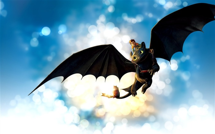 how to train your dragon-Cartoon animation film Selected Wallpaper Views:16497
