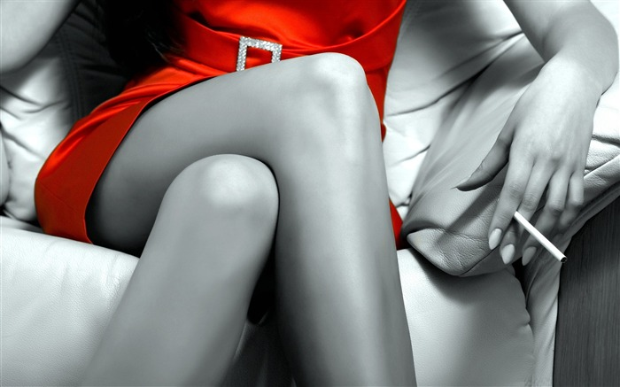 lady in red-Global Beauty Girl wallpaper selection Views:8947