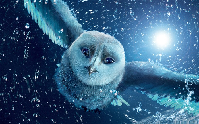 legend of the guardians the owls-Cartoon animation film Selected Wallpaper Views:17461