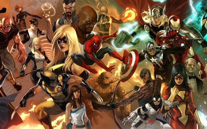 the heroic age avengers-Cartoon animation film Selected Wallpaper Views:25221