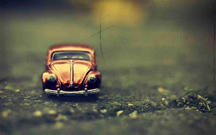 volkswagen beetle toy-LOMO style photography Desktop third series Views:7178