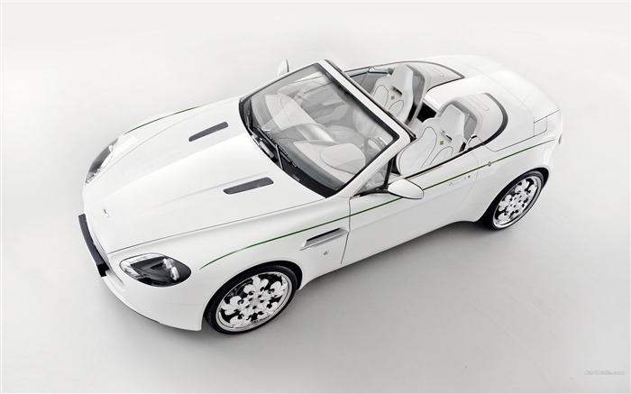 Aston Martin V8 Vantage Blanc de Blancs wallpaper 10 Views:5461