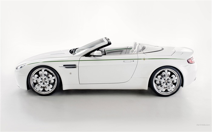Aston Martin V8 Vantage Blanc de Blancs wallpaper 12 Views:5715