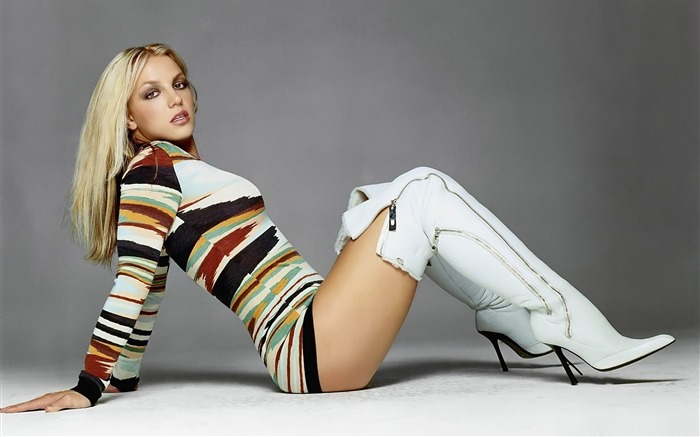 Beauty Star pop music Singer-Britney Spears Photo Wallpaper 02 Views:4842