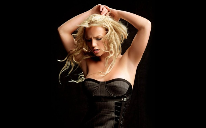 Beauty Star pop music Singer-Britney Spears Photo Wallpaper 07 Views:4670