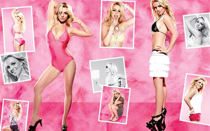 Beauty Star pop music Singer-Britney Spears Photo Wallpaper 13 Views:4261