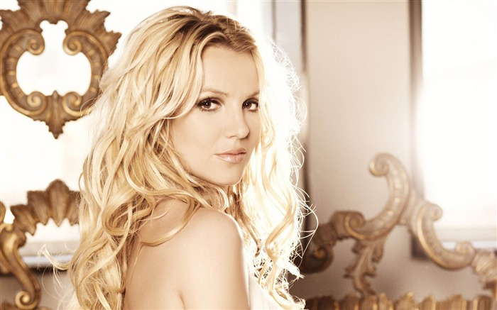 Beauty Star pop music Singer-Britney Spears Photo Wallpaper Views:10125