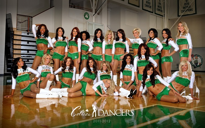 Boston Celtics 2011-2012 season beautiful Dancers Wallpapers Views:12642