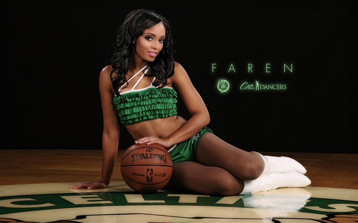 Faren-Boston Celtics 2011-2012 season beautiful Dancers Wallpapers  Views:5883