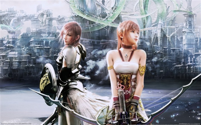 Final Fantasy XIII-2 Game HD Wallpaper Vistas:12518