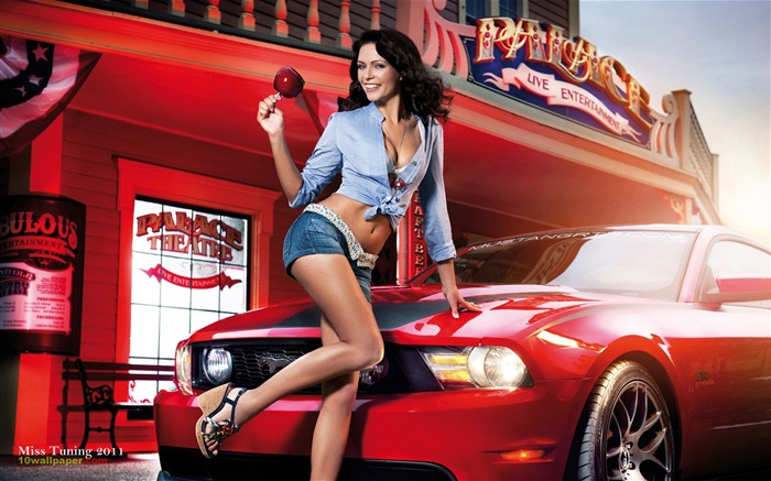 Kristin Zippel-2012 German tuning car models sexy lady HD wallpaper 08 Views:10926