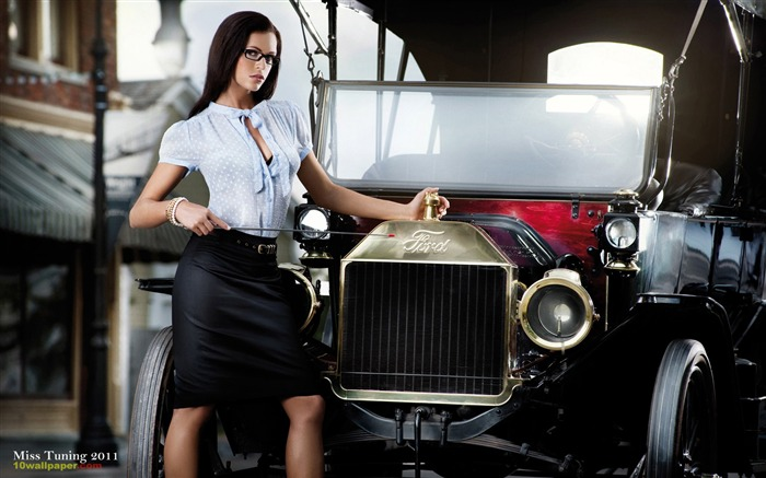 Kristin Zippel-2012 German tuning car models sexy lady HD wallpaper 11 Views:8478
