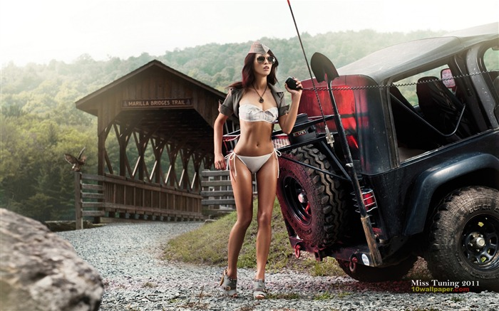 Kristin Zippel-2012 German tuning car models sexy lady HD wallpaper Views:44568