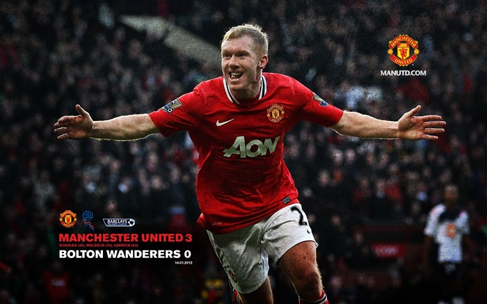Premier League 2011-2012 season Manchester United wallpaper Views:9686