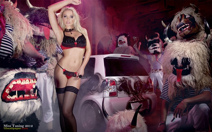 Mandy Lange-2012 German tuning car models sexy lady HD wallpaper 04 Views:20431
