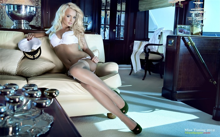 Mandy Lange-2012 German tuning car models sexy lady HD wallpaper 10 Views:29802