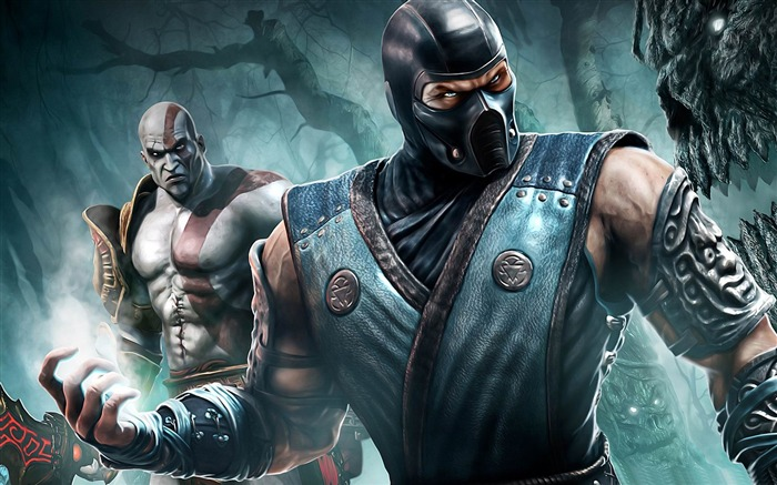 Mortal Kombat game desktop wallpaper Views:13021