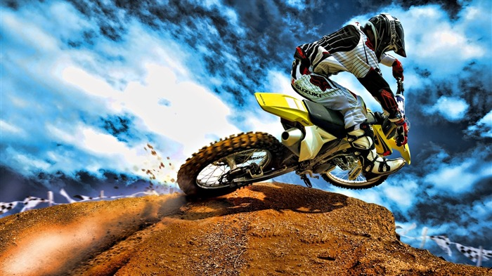 Motocross-outdoor sports Desktop picture Views:8651 Date:1/1/2012 4:44:36 PM