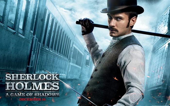 Sherlock Holmes A Game of Shadows Movie Wallpaper 04 Views:4645