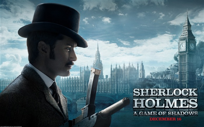 Sherlock Holmes A Game of Shadows Movie Wallpaper 08 Views:3340