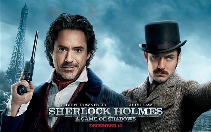 Sherlock Holmes A Game of Shadows Movie Wallpaper Views:7087